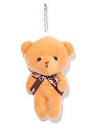 www.sayila.com - Textile pendant/key fob bear 13x8cm - J07913