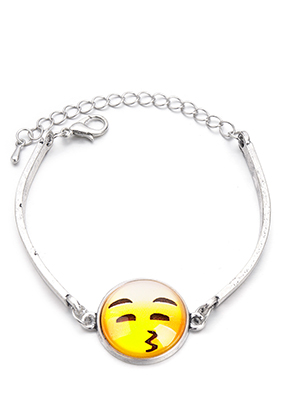 www.sayila.es - Pulsera con emoji 18-21cm