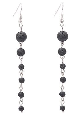 www.sayila.com - Natural stone earrings lava rock/Pelelith