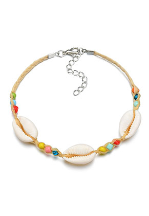 www.sayila.com - Bracelet with shells 24-29cm