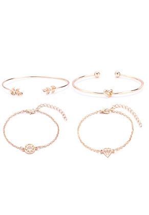 www.sayila-perlen.de - Set von Armbänder 19cm
