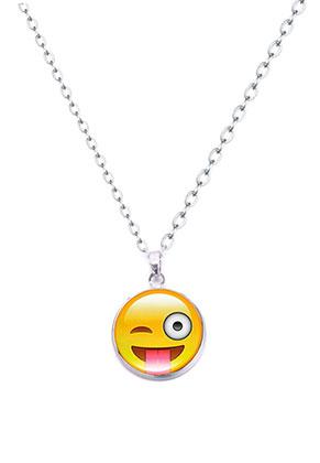www.sayila.fr - Collier avec emoji 47-52cm
