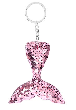www.sayila.com - Key fob with reversible sequins mermaid tail