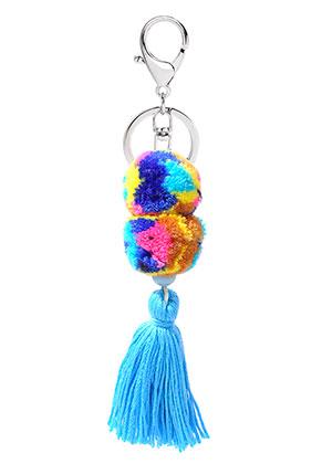 www.sayila.com - Ibiza Style pendant/key fob with tassel and pompoms