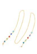 www.sayila.co.uk - Eyeglasses chain with strass 76cm - J08260