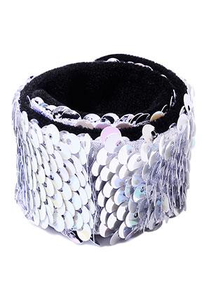 www.sayila.be - Armband met omkeerbare pailletten