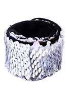www.sayila.com - Bracelet with reversible sequins - J08316