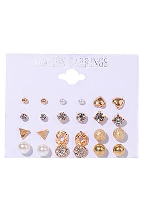 www.sayila.nl - Mix metalen oorstekers