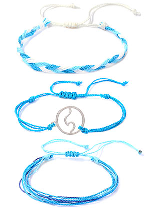 www.sayila-perlen.de - Set von Armbänder