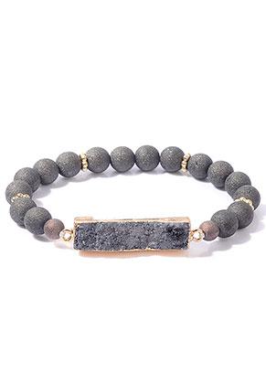 www.sayila.nl - Armband met natuursteen Crystal 19cm