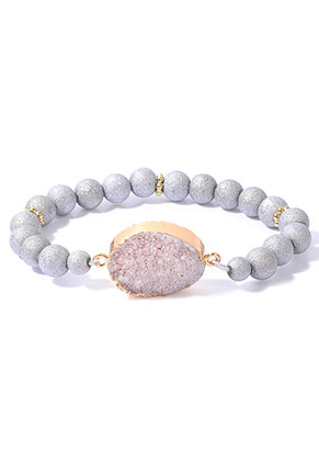 www.sayila.co.uk - Bracelet with natural stone Crystal 18cm