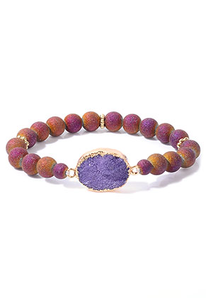 www.sayila.com - Bracelet with natural stone Crystal 18cm