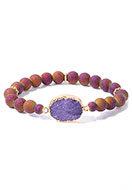 www.sayila.co.uk - Bracelet with natural stone Crystal 18cm - J08549