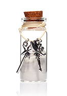 www.sayila.com - Glass wish bottle with bracelet fairy 54x22mm - J08642