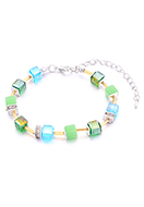 www.sayila.com - Bracelet with glass beads 19-24cm - J08723