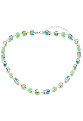 www.sayila.com - Necklace with glass beads 45-50cm