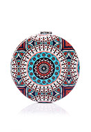 www.sayila.com - Synthetic pocket-mirror round mandala print 7x1,5cm - J08850