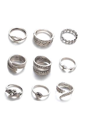 www.sayila.com - Mix metal rings Ø 15-18mm