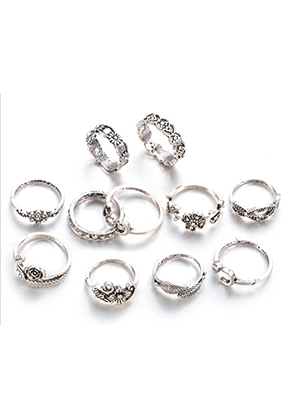 www.sayila.com - Mix metal rings Ø 15-18mm