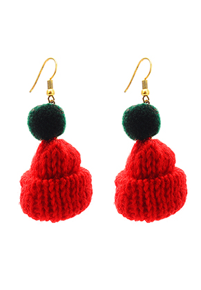 www.sayila.com - Earrings with mini hat 6x2,5cm