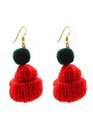www.sayila.co.uk - Earrings with mini hat 6x2,5cm - J08900