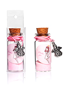 www.sayila.co.uk - Glass wish bottle with bracelet angel 54x22mm - J08921