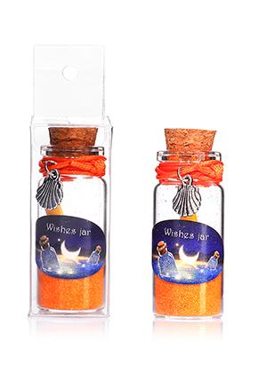 www.sayila.es - Botella de deseo (Wish bottle) de vidrio con pulsera concha 54x22mm