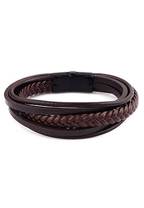 www.sayila.be - Imitatieleren armband 22cm