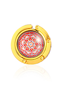 www.sayila.com - Purse hook with cabochon mandala 45mm - J09314