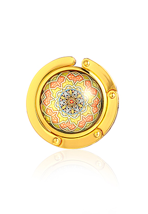 www.sayila.be - Tashaak met cabochon mandala 45mm