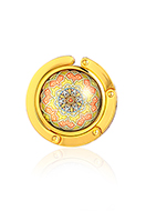 www.sayila.com - Purse hook with cabochon mandala 45mm - J09315