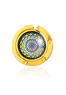 www.sayila.com - Purse hook with cabochon mandala 45mm - J09316