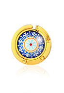 www.sayila.com - Purse hook with cabochon mandala 45mm - J09318