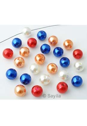 www.sayila.nl - BudgetPack Mix kunststof parels Nederland ± 10mm (± 80 st.)
