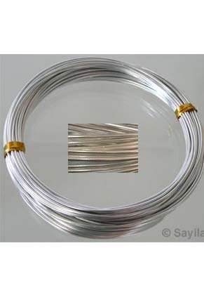 www.sayila-perlen.de - Aluminiumdraht 1mm