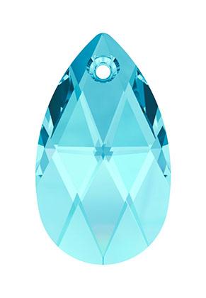 www.sayila.fr - SWAROVSKI ELEMENTS pendentif/breloque 6106 Pear-shaped Pendant goutte 16x9,5mm, 5,5mm d'épaisseur