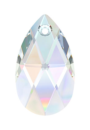 www.sayila.com - SWAROVSKI ELEMENTS pendant/charm 6106 Pear-shaped Pendant drop faceted ± 16x9,5mm, ± 5,5mm wide