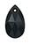 www.sayila.nl - SWAROVSKI ELEMENTS hanger/bedel 6106 Pear-shaped Pendant druppel facet geslepen ± 16x9,5mm, ± 5,5mm dik