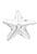 www.sayila.nl - SWAROVSKI ELEMENTS hanger/bedel 6721 Starfish Pendant 16mm
