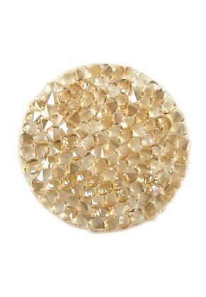 www.sayila.fr - SWAROVSKI ELEMENTS disque 72013 Crystal Rock Hotfix circulaire 24mm