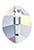 www.sayila.nl - SWAROVSKI ELEMENTS Hanger/Bedel 6734 Pure Leaf Pendant blaadje 14x11mm