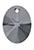 www.sayila.nl - SWAROVSKI ELEMENTS Hanger/Bedel 6028 XILION Oval Pendant ovaal 10mm