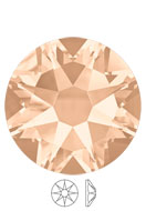 www.sayila-perlen.de - SWAROVSKI ELEMENTS Klebsteine 2088 XIRIUS Rose Enhanced SS34 7,2mm - SW2401