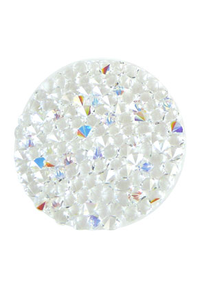 www.sayila.nl - SWAROVSKI ELEMENTS schijf 72013 Crystal Rock Hotfix rond 24mm