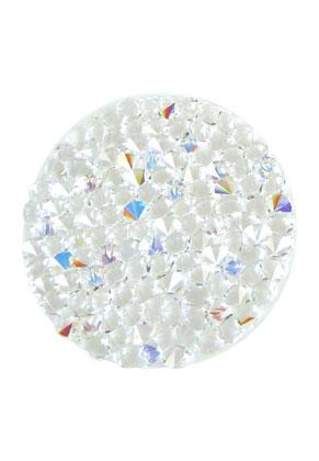 www.sayila.com - SWAROVSKI ELEMENTS disk 72010 Crystal Rock Hotfix round 30mm