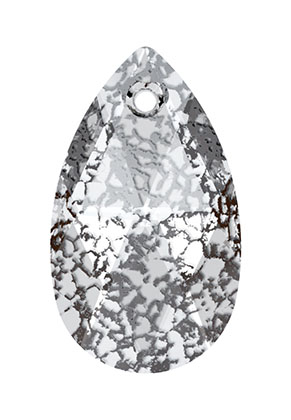 www.sayila-perlen.de - SWAROVSKI ELEMENTS Anhänger 6106 Pear-Shaped Pendant Tropfen 16x9,5mm
