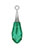 www.sayila.nl - SWAROVSKI ELEMENTS Hanger 6532 Pure Drop Pendant Tr.Cap druppel 21mm