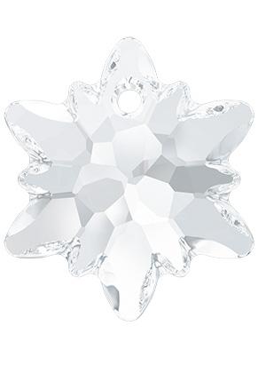 www.sayila.fr - SWAROVSKI ELEMENTS pendentif/breloque 6748 Edelweiss Pendant fleur 14mm