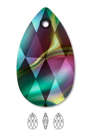 www.sayila.com - SWAROVSKI ELEMENTS charm/pendant 6106 Pear-Shaped Pendant drop 16x9,5mm