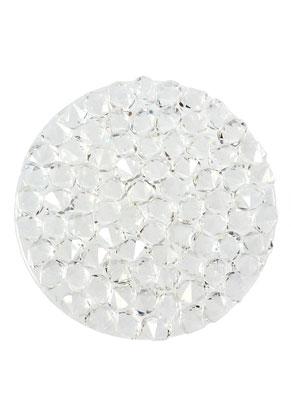 www.sayila.com - SWAROVSKI ELEMENTS disk 72013 Crystal Rock Hotfix round 24mm